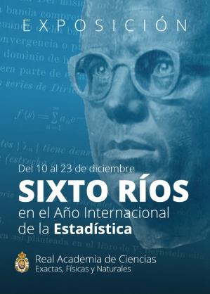 Sixto Ríos en el Año Internacional de la Estadística