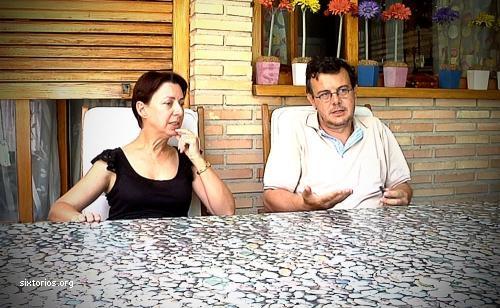 Entrevista a María Jesús y David Ríos en el documental <i>Olvido</i>