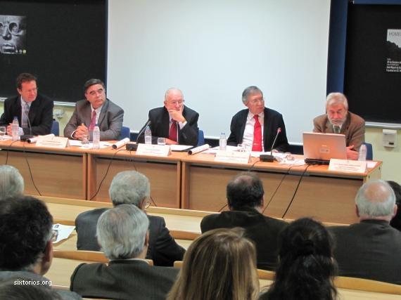 Un momento del homenaje © Universidad Complutense de Madrid